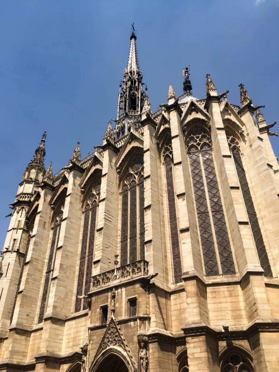 sainte-chapelle paris fachada