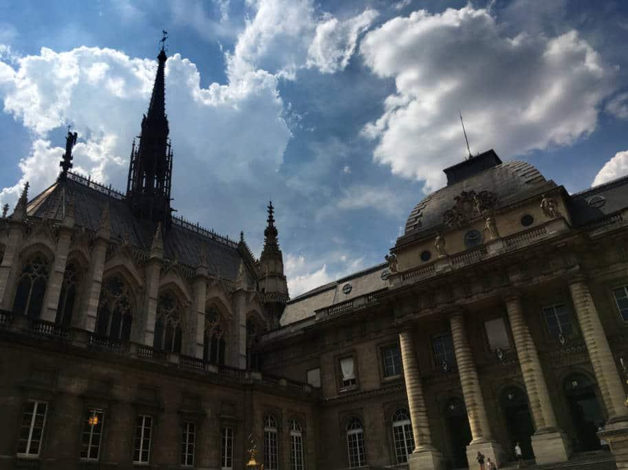 sainte-chapelle paris palacio da justiça