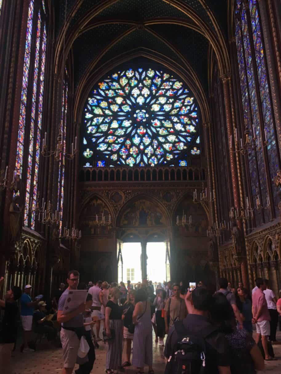 sainte-chapelle paris rosa