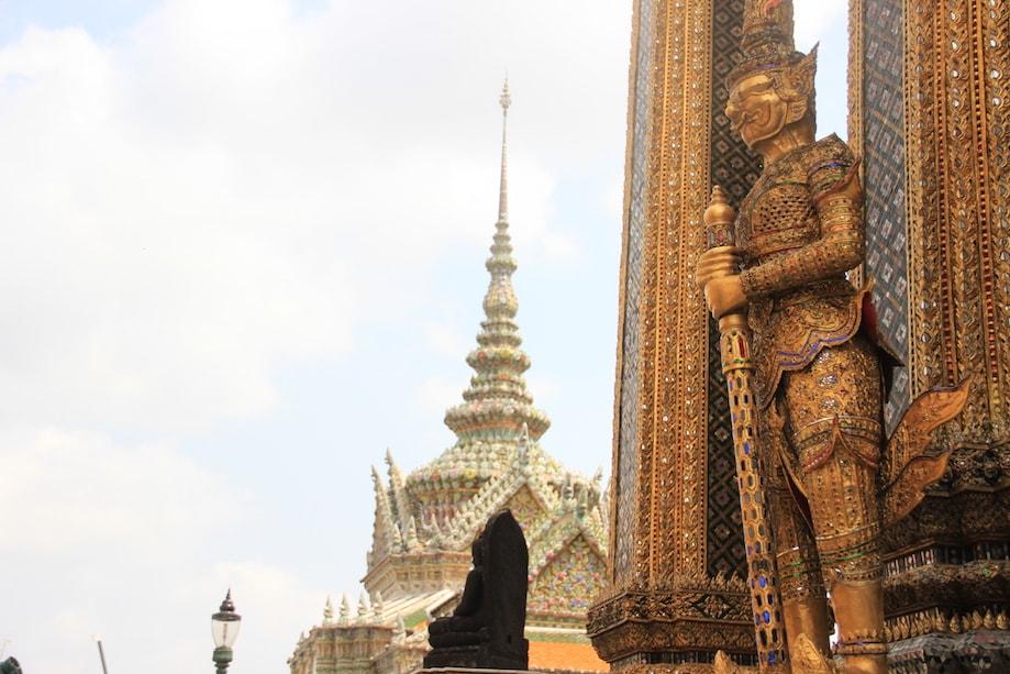 Templo do Buda Esmeralda em Bangkok