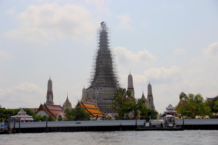 Wat Arun, o templo do amanhecer em Bangkok
