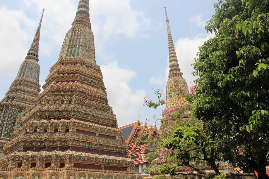 wat pho - templo em Bangkok