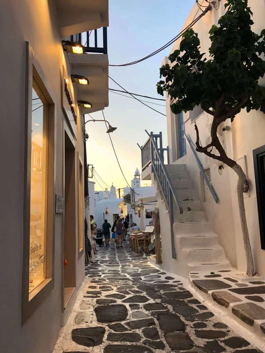 lua de mel grecia rua mikonos