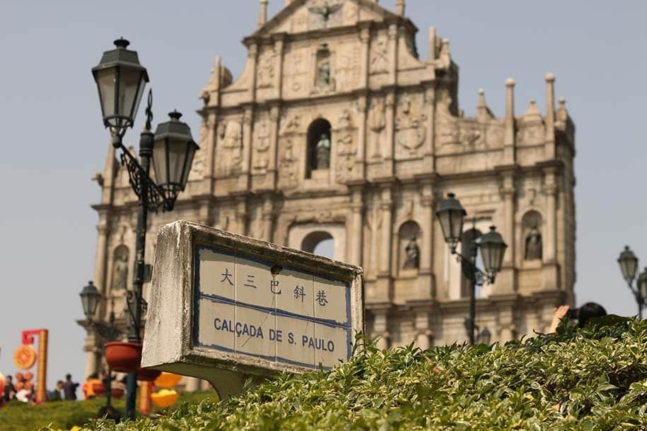 português em Macau