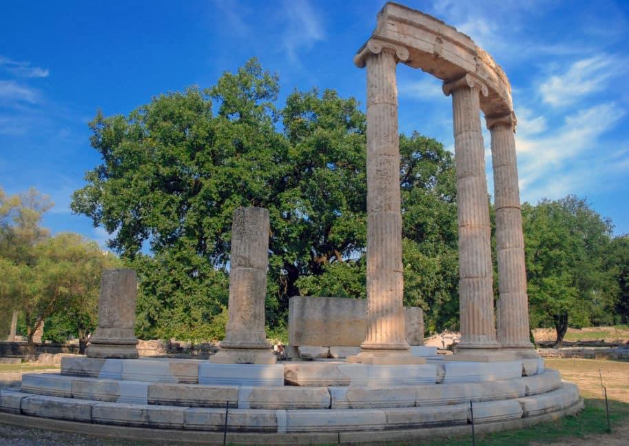 7 maravilhas do mundo Olimpia na Grecia ruinas