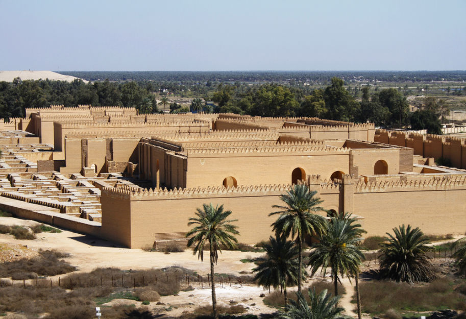7 maravilhas do mundo Bagda Babilonia