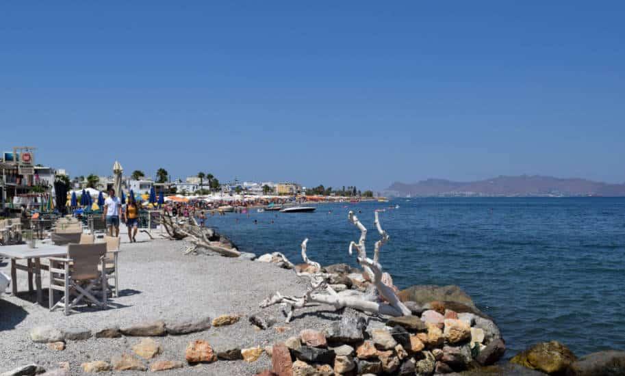 Ilha de Cos Grecia praia kos town