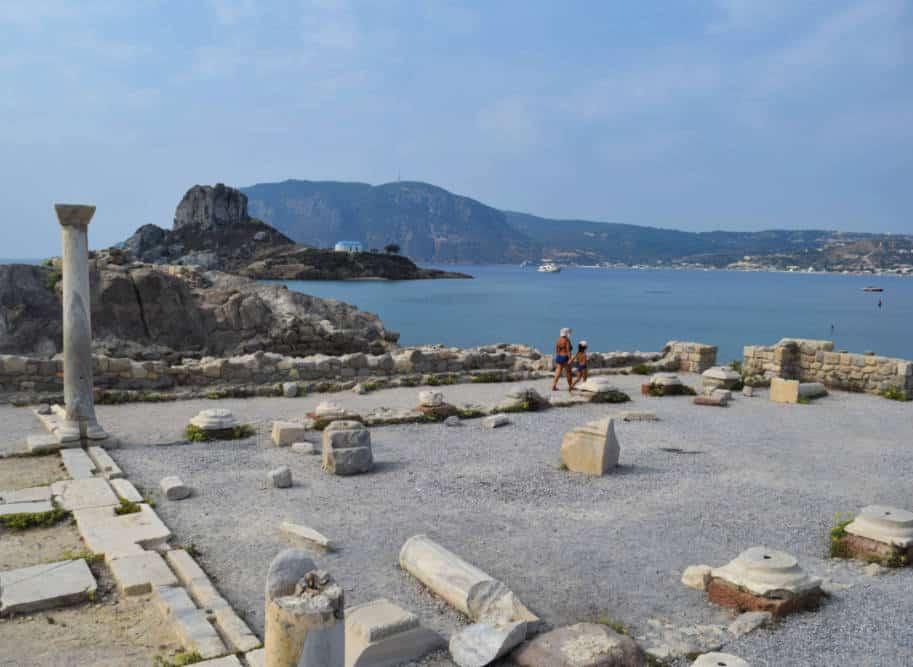 Ilha de Cos Grecia ruinas agios stephanos