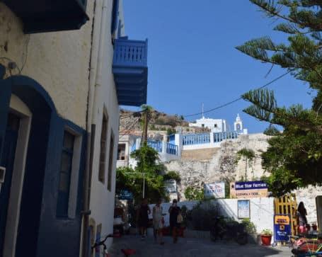 Ilha de Nisyros Grecia Vila de Nikia