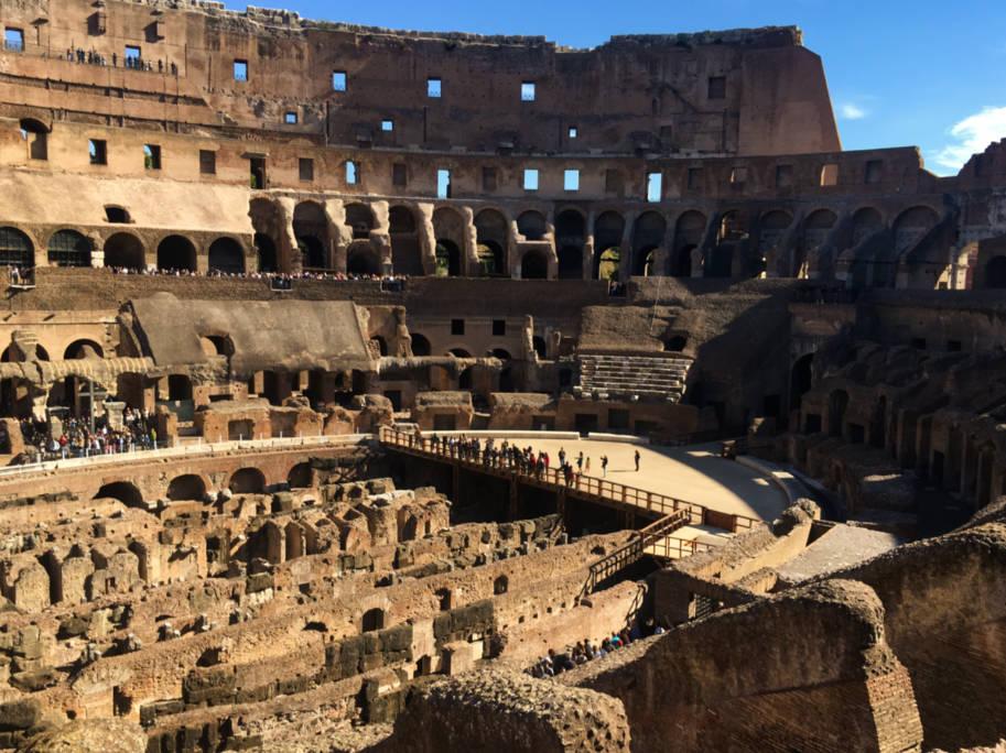 Pontos turistico de Roma Coliseu