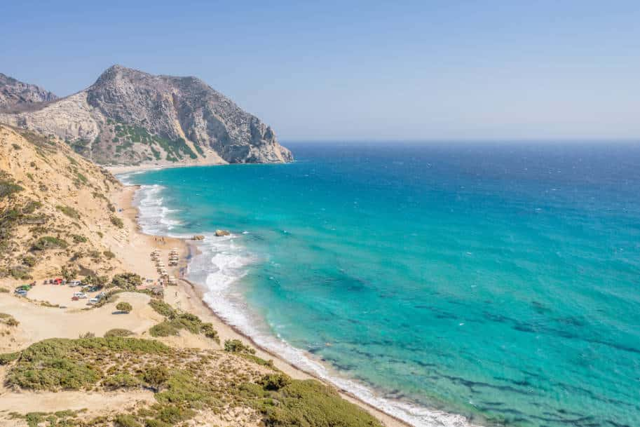 cavo paradiso Ilha de Cos Grecia