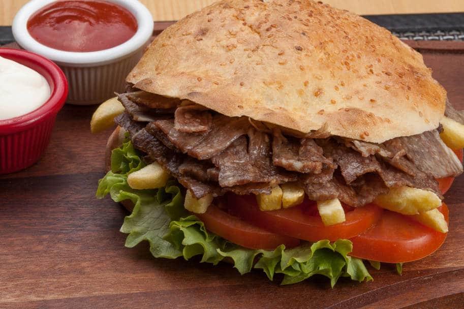 comida turca donner kebab