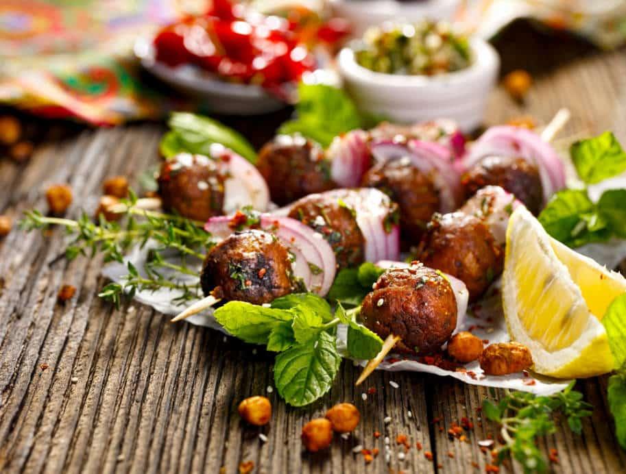 comida turca kofte