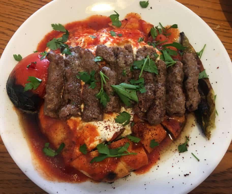 comida turca manisa kebab