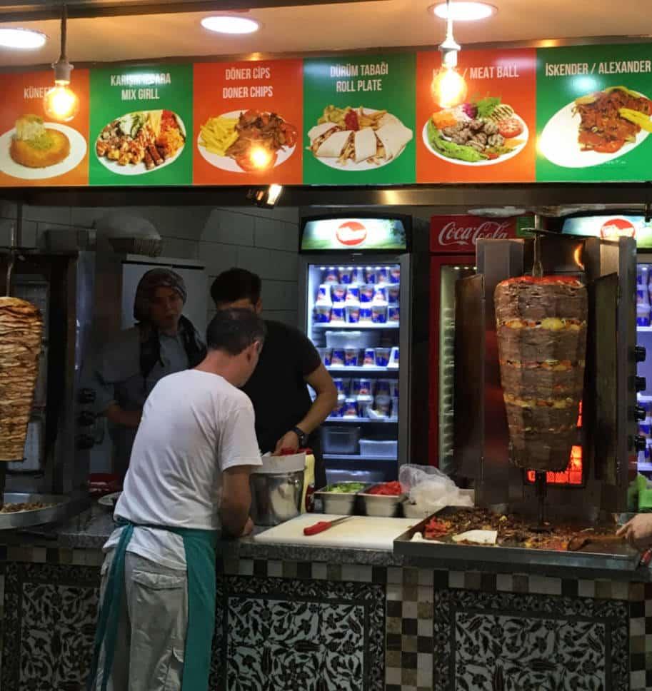 donner kebab comida turca