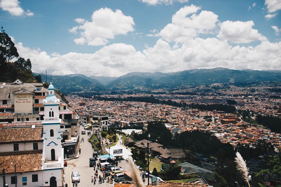 O que fazer em Cuenca - Mirador Turi