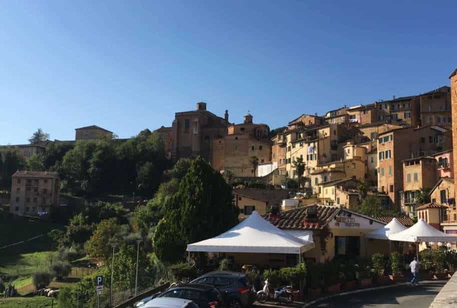 Siena Italia o que fazer Vista mercato