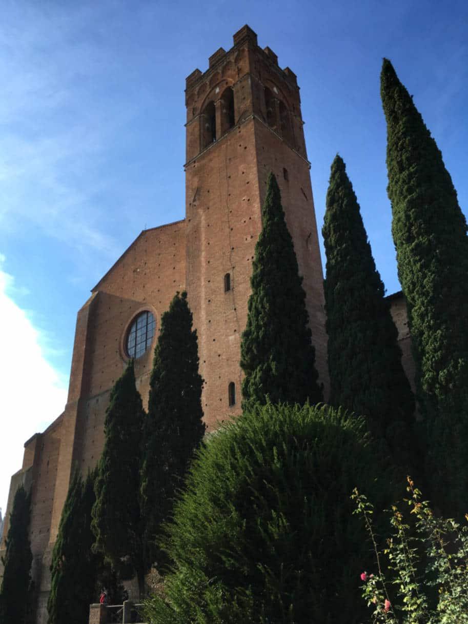 Siena Italia o que fazer basilica santo domingos