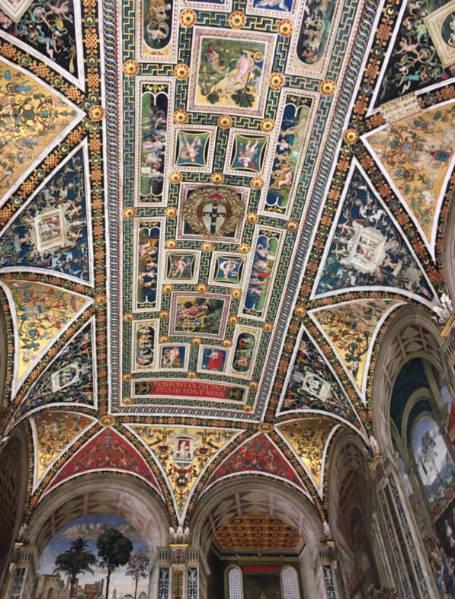 Siena Italia o que fazer biblioteca 1
