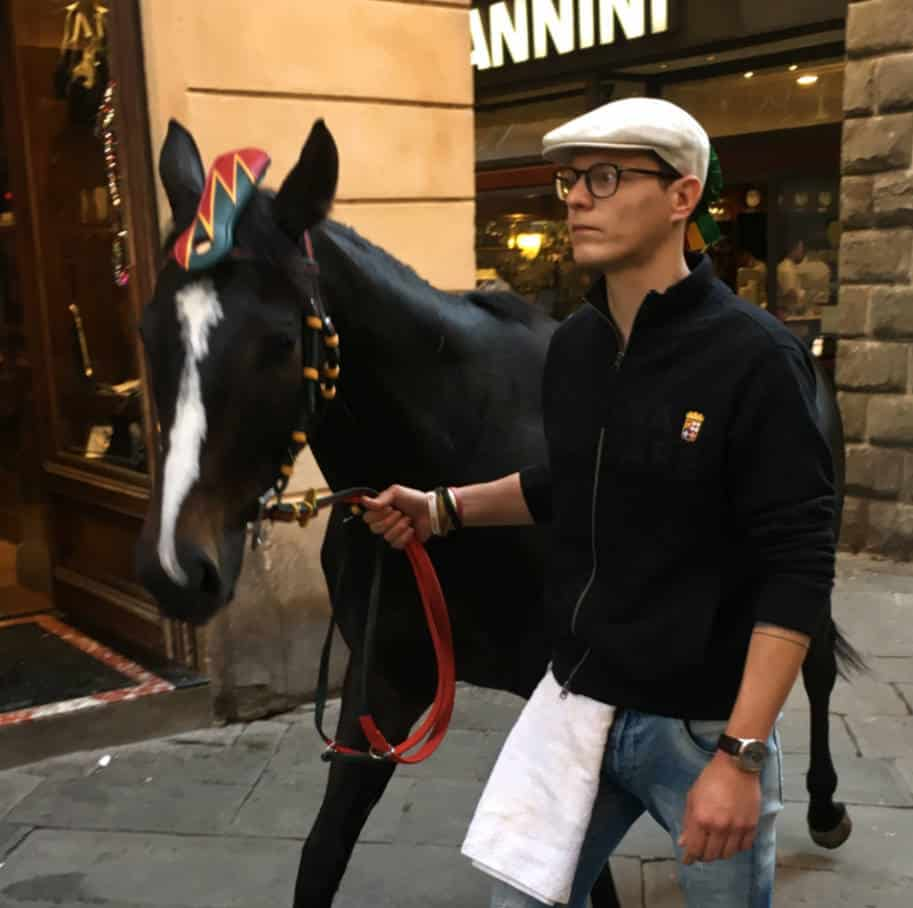 Siena Italia o que fazer cavalo palio di siena