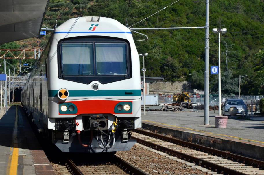 historia trem na italia