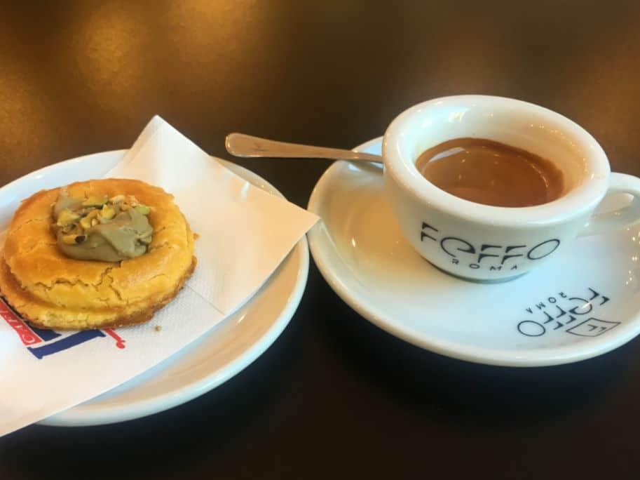 restaurantes em roma onde comer cafe feffo