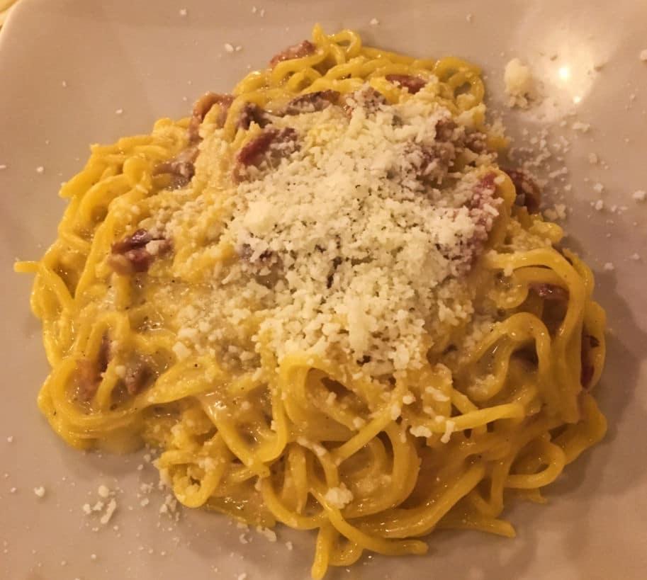restaurantes roma onde comer trastevere