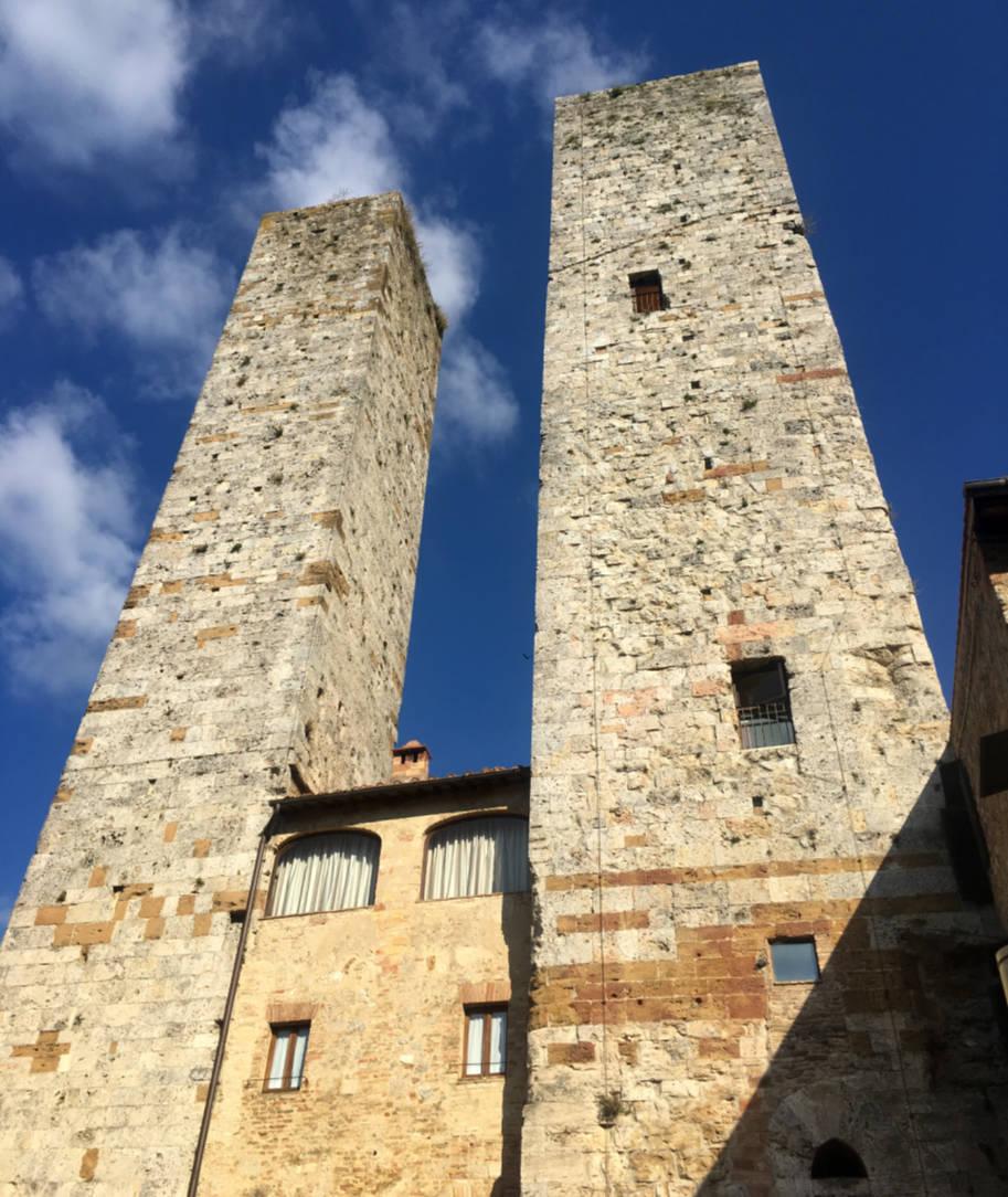 san gimignano italia torres gemeas