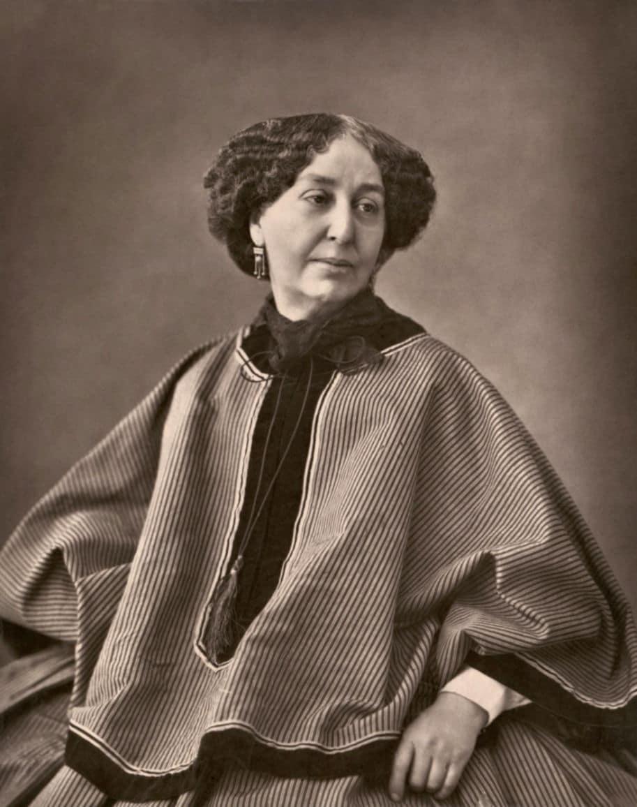 George Sand retrato em 1894