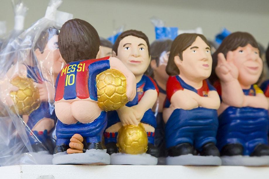 Caganer - Messi - Catalunha
