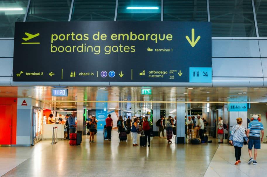 embarque lisboa aeroporto imigração