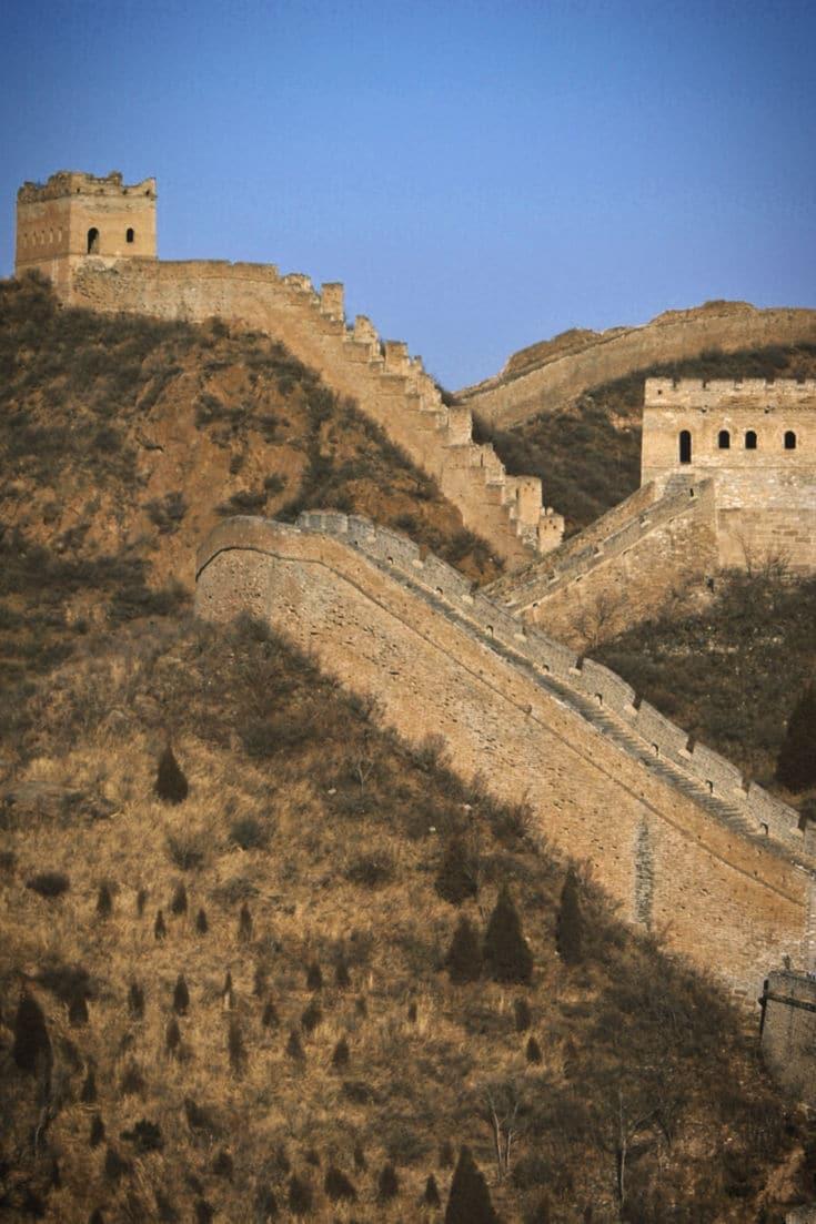 melhores lugares para viajar barato china muralha