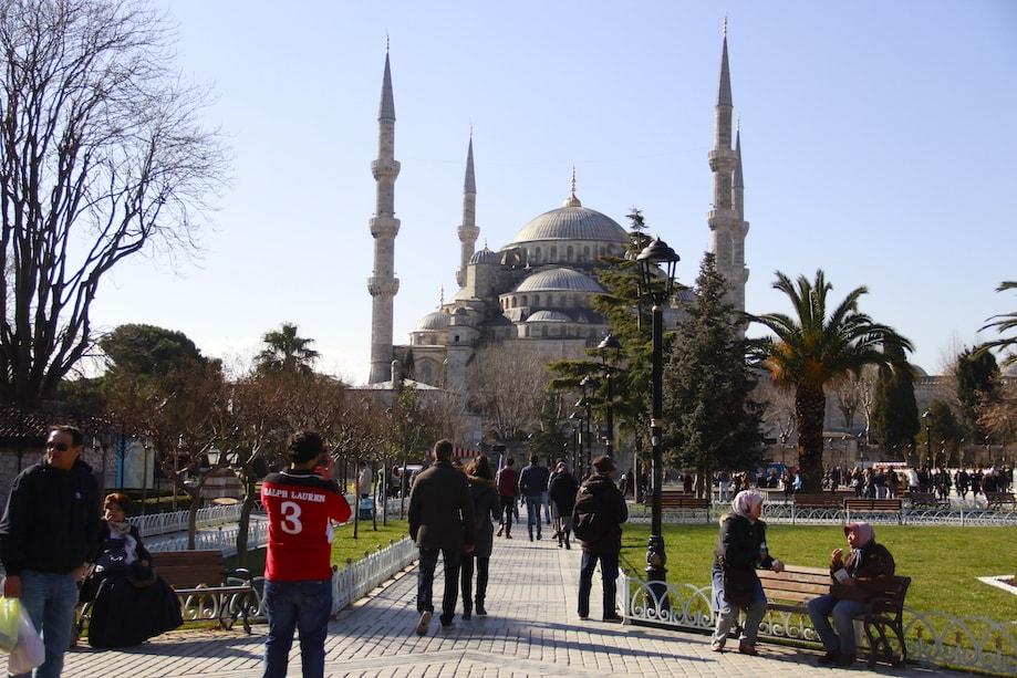 O que fazer em Istambul - Mesquita Azul