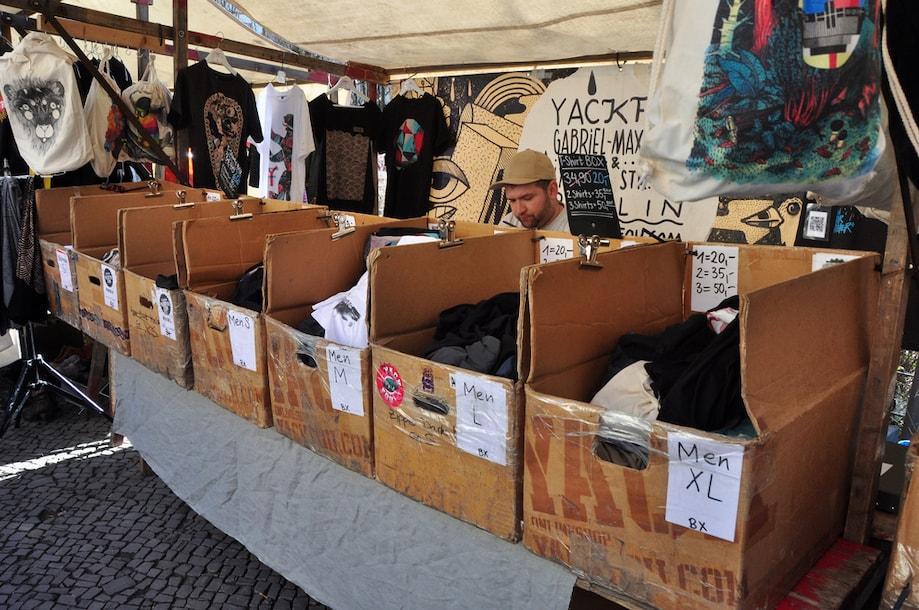 Mercados de pulgas em Berlim