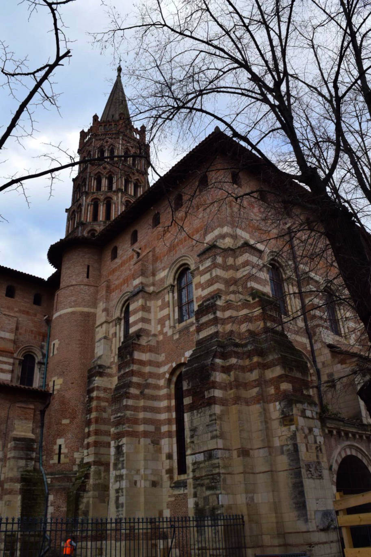 Basilica de Saint Sernin Toulouse Franca