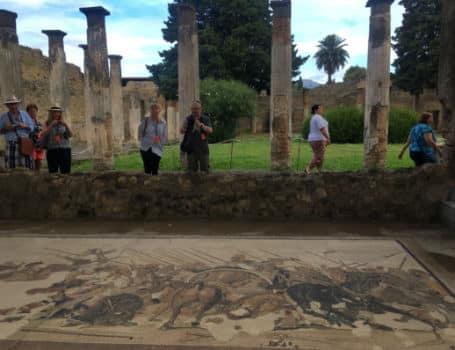Casa do Fauno ruinas de pompeia italia
