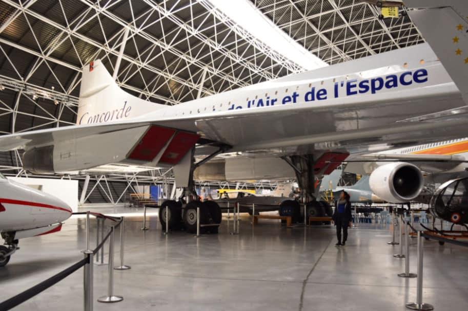 Concorde no museu aeroscopia