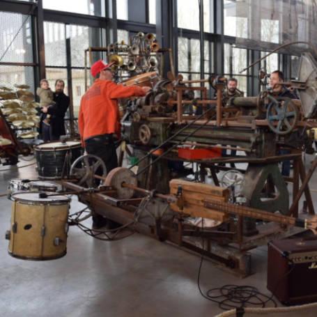 Halle de La Machine instrumentos musicais Toulouse Franca