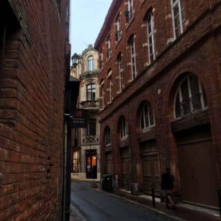 Ruas de Carmes Toulouse Franca