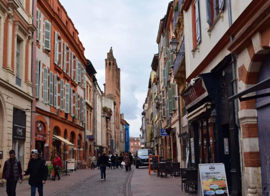 Rue du Taur Toulouse Franca