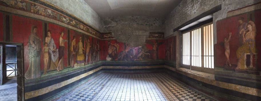 Vila dei Misteri Pompeia Italia