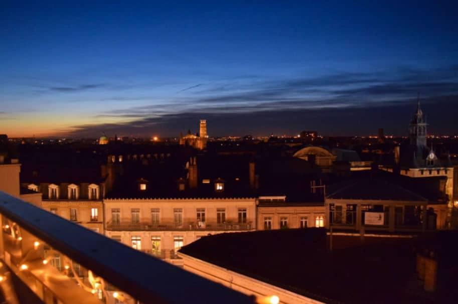 Vista de Toulouse terraco galerias lafayette