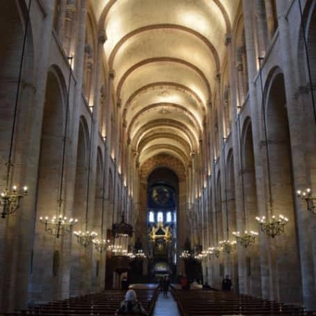 catedral de sao saturnino toulouse franca