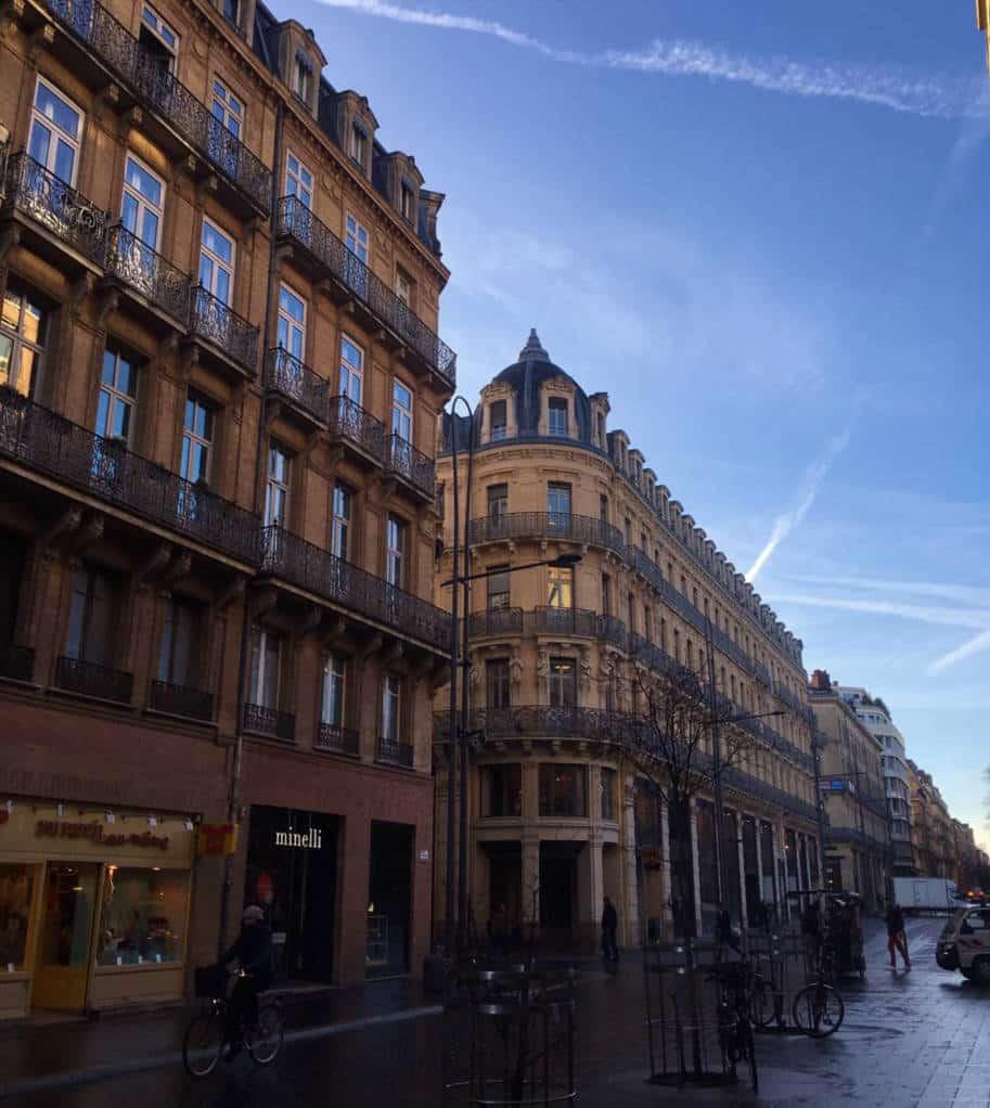 centro de Toulouse Franca