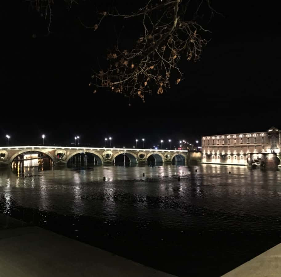 pont neuf noite em toulouse