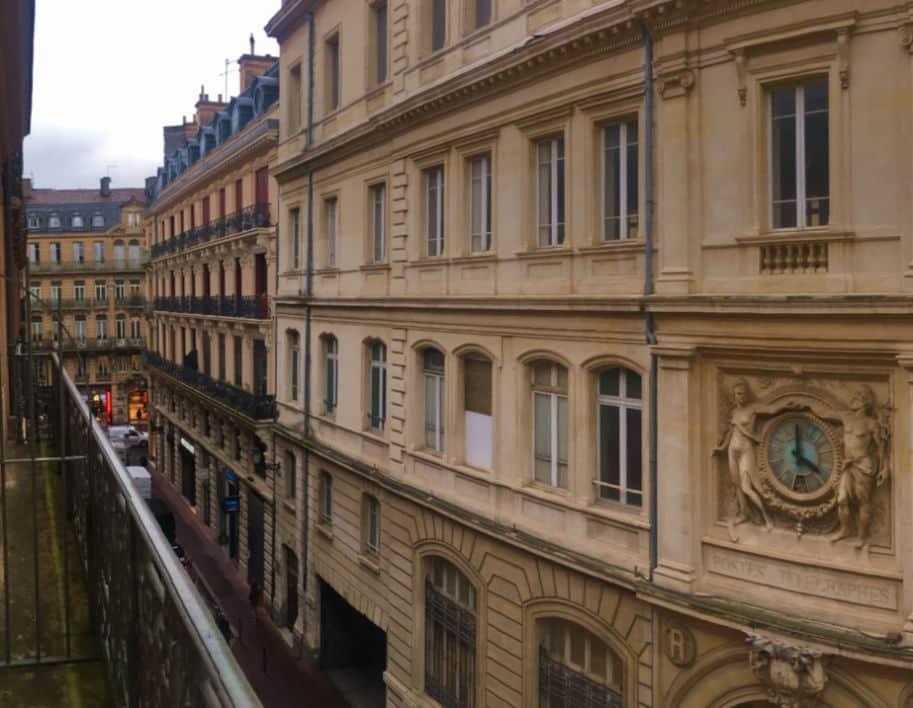 vista panoramica centro de toulouse hotel albert