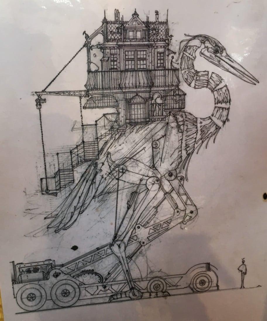 Desenho Garca Compagnie La Machine Toulouse