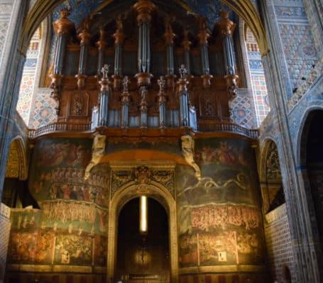 catedral de albi franca painel juizo final