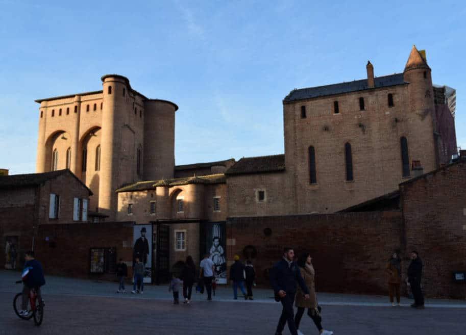 palacio do bispo albi frança