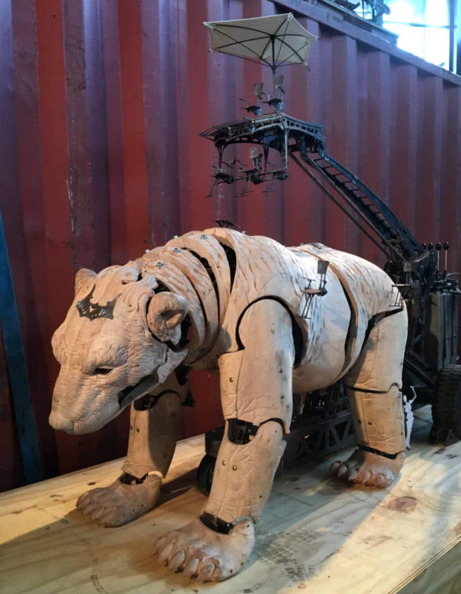 projeto urso para madrid la machine franca